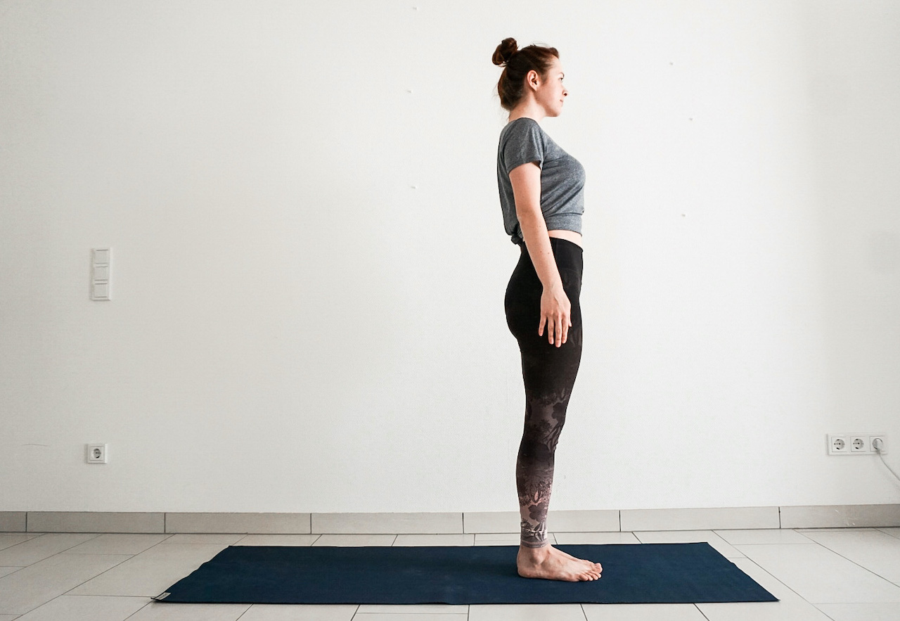 beginner yoga poses mountain pose tadasana