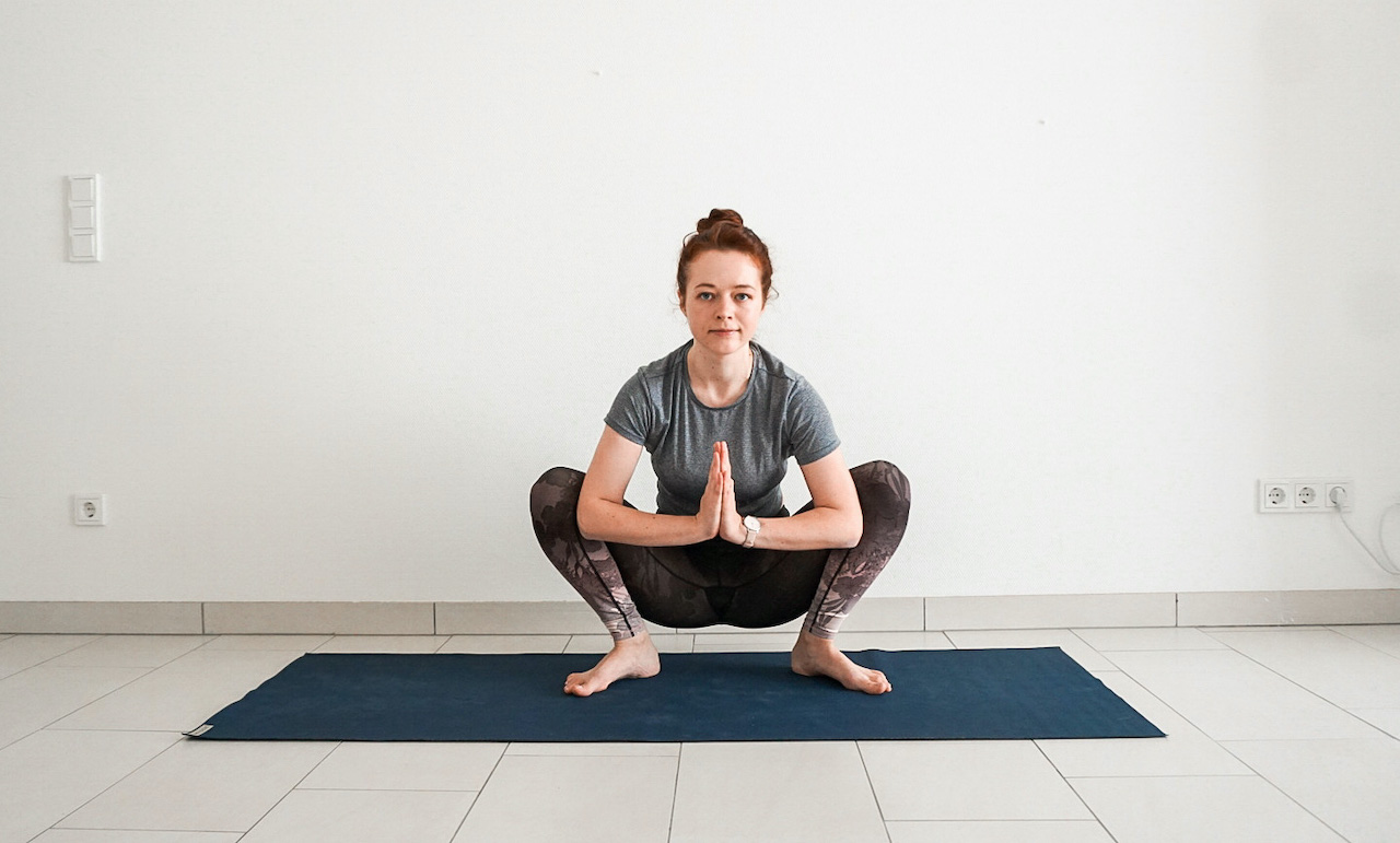 yoga poses for beginners - malasana