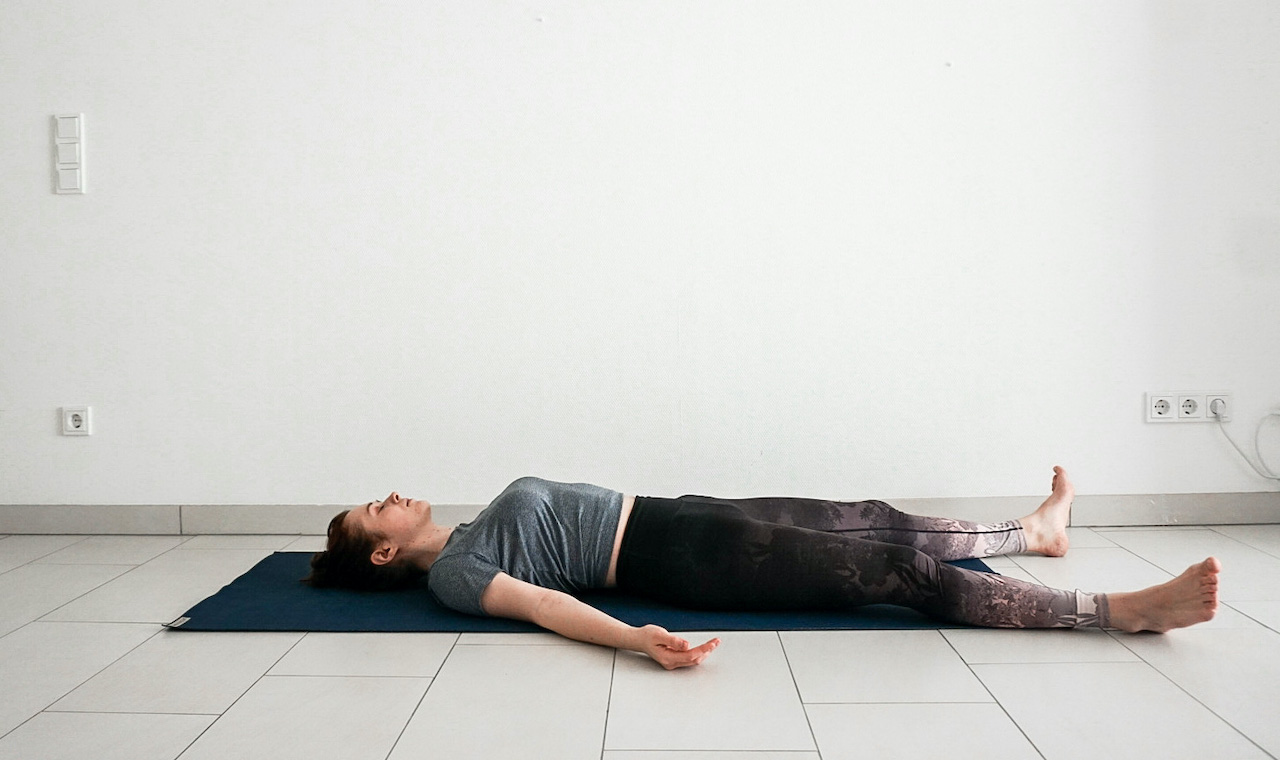 yoga poses for beginners - corpse pose