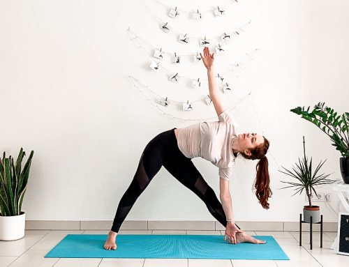 10 min Standing Yoga You Can Do Without A Yoga Mat (Free PDF Printable + Follow Along Video)