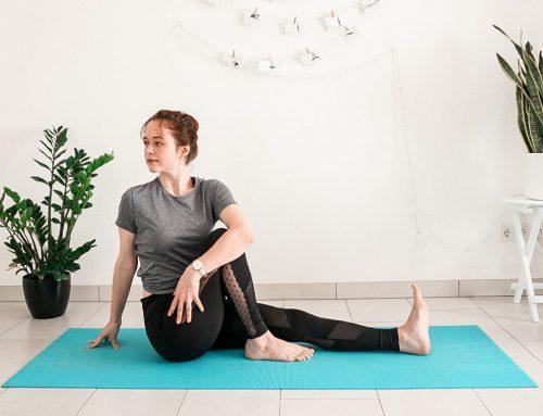 5 Min Gentle Morning Yoga Stretch (Free PDF Printable + Follow Along Video)