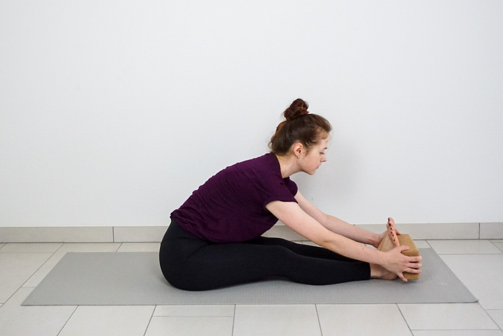 deepen your seated forward fold