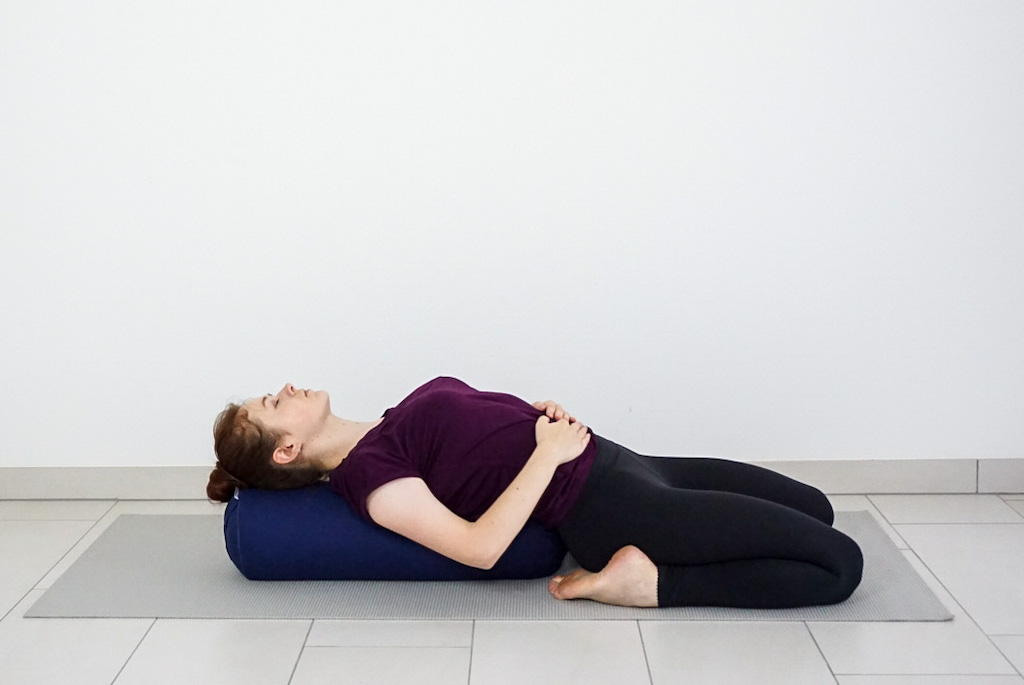 10 ways to use a yoga bolster
