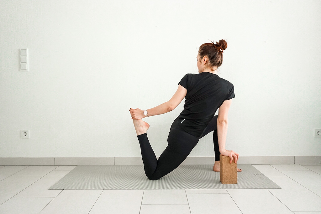 hip flexor stretch for beginners