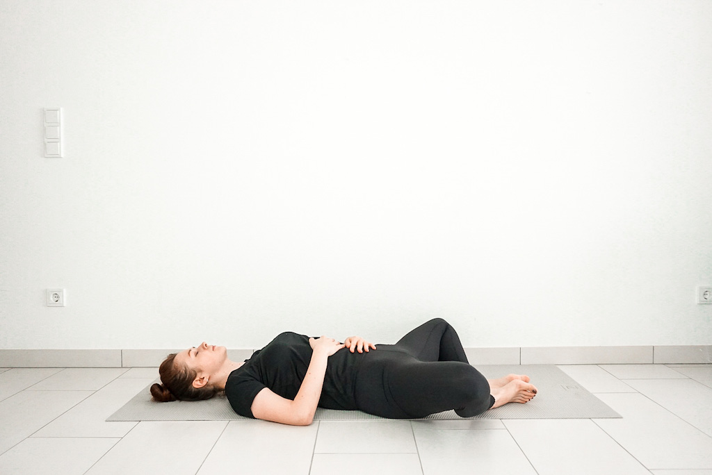 reclined bound angle pose beginner hip openers