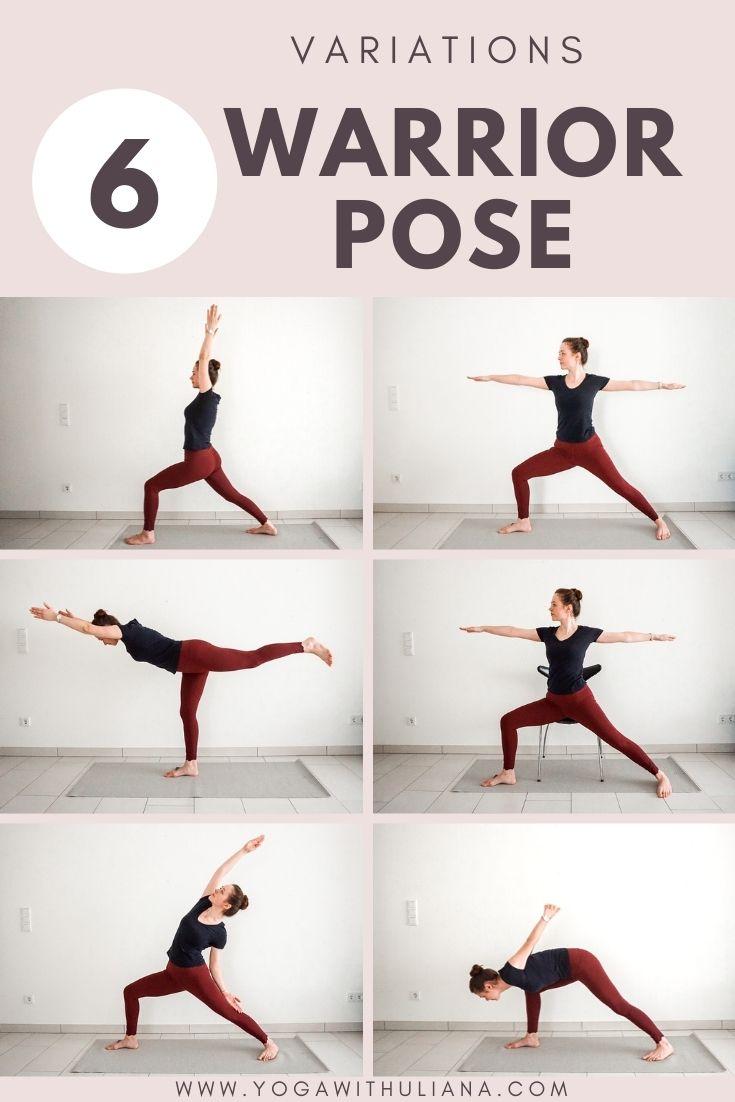 Warrior pose variations