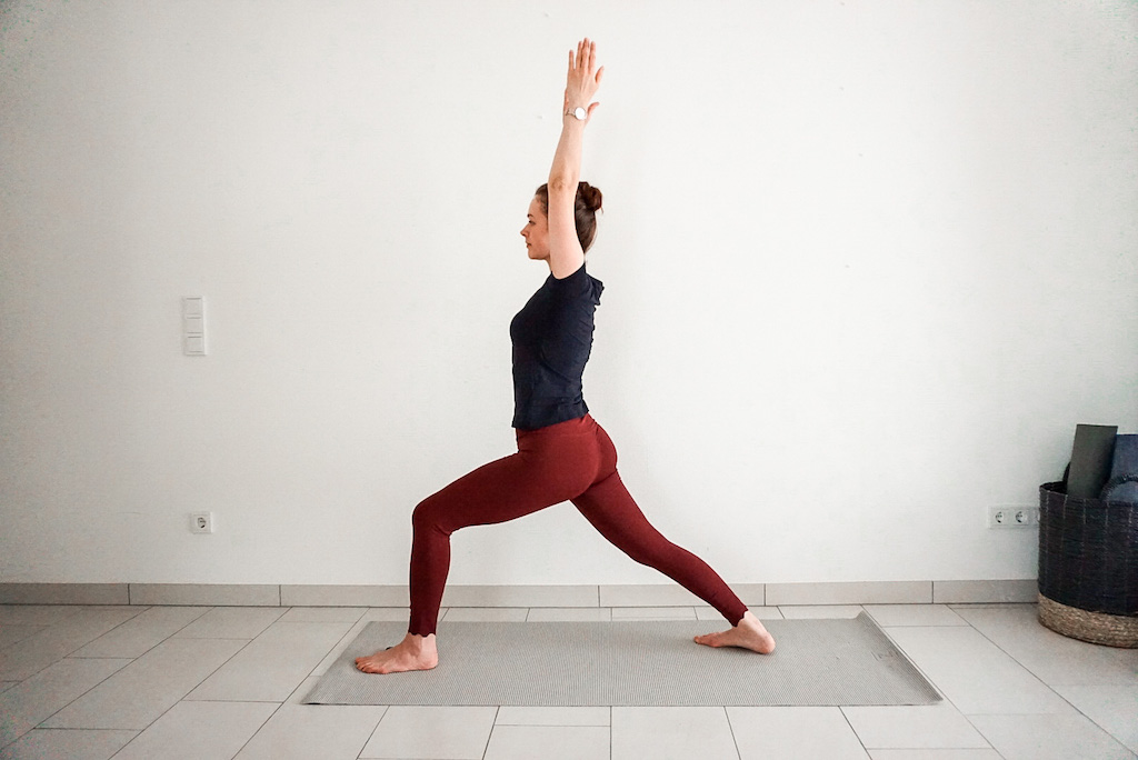 Warrior One - Warrior pose variations for beginners